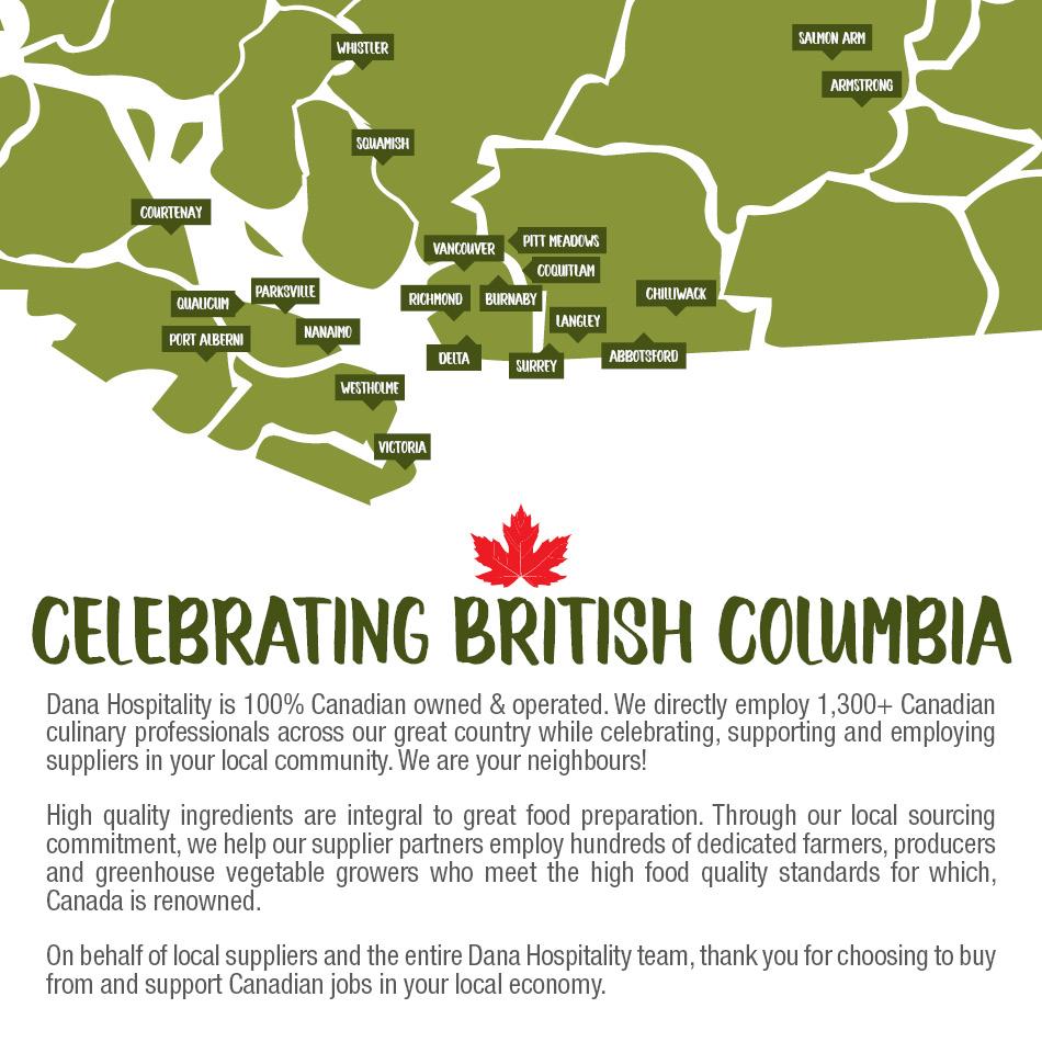 Celebrating British Columbia